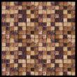 Изображение Mix Glass&Stone Мозаика микс PST014-15 1,5х1,5