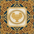 Текстура плитки Vanitas Comp. Classica Blu 78.9x78.9