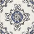 Текстура плитки Sevilla Azul Dekor B 19.8x19.8