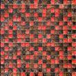 Изображение Flowers Мозайка Стеклянная Глянцевая ICE-10 (DH-2389) 1,5х1,5