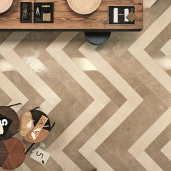 Интерьерные фото плитки из коллекции Beige Experience Floor