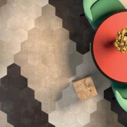 Интерьерные фото плитки из коллекции Textile