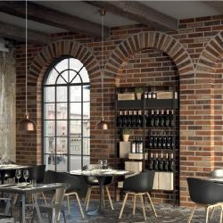 Интерьерные фото плитки из коллекции Bricklane