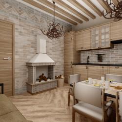 Сауна (душевая и комната отдыха) Rondine/Tribeca, Peronda ceramicas/Foresta-Mumble, Italon/Materia
