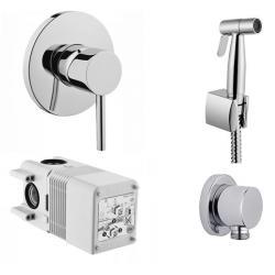 Фото сантехники Набор с гигиеническим душем (4 в 1), хром