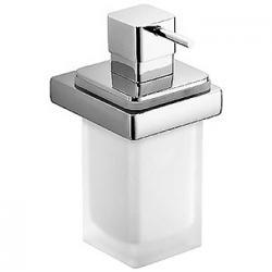 Фото сантехники Lulu дозатор для жидкого мыла подвесной l.8,3 p.10.8 h.17,1 хром