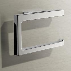 Фото сантехники Держатель для туалетной бумаги, открытая форма, цвет хром