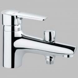 Фото сантехники Eurostyle Смеситель на борт ванны на 1 отверстие, хром