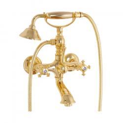 Фото сантехники Prestige Смеситель для ванны/душа внешний с душем золото