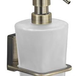 Фото сантехники Exter Дозатор жидкого мыла, навесной, светлая бронза