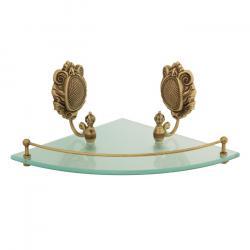 Фото сантехники Cleopatra Полка одинарная, бронза