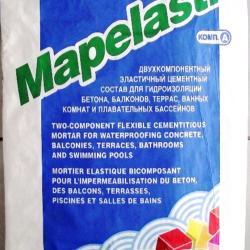 Строительная химия Mapelastic part A 24 kg двухкомпонентная гидроизоляция, мешок