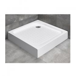 Фото сантехники Rodos C Поддон душевой акриловый 90х90х16 см, отверстие под сифон 90мм, цельнолитой, цвет белый