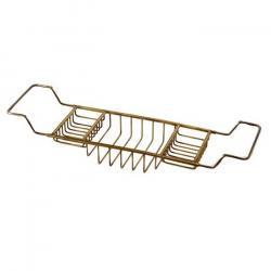 Фото сантехники Complementi Полка-решетка на ванну, цвет бронза