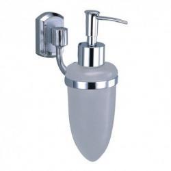 Фото сантехники Oder Дозатор жидкого мыла, стекло, цвет хром