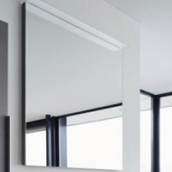 Фото сантехники Happy D2 Зеркало с подсветкой 800 мм, лен