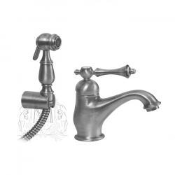 Фото сантехники Bomond Смеситель для раковины с гигиеническим душем, цвет хром