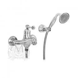 Фото сантехники Bomond Смеситель для  ванны внешний с душем, цвет хром