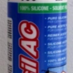Строительная химия Mapesil AC 100 White 310 ml. силиконовый клей-герметик белый