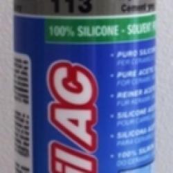 Строительная химия Mapesil AC 113 Cement Grey 310 ml силиконовый клей герметик темно серый