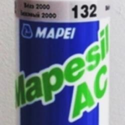 Строительная химия Mapesil AC 132 Beige 310 ml силиконовый клей герметик бежевый