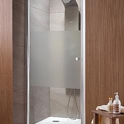 Фото сантехники Eos DWJ Душевая дверь правая, 1000х1970мм, профиль хром, стекло прозрачное 6мм