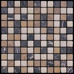 Изображение Mix Мозаика мрамор состаренная MT-01-25T (MT-01) 2,5х2,5