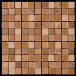 Изображение Mix Glass&Stone Мозаика микс MSD-006 (PST-06) 2,5х2,5