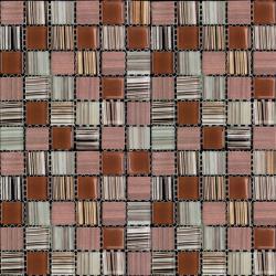 Изображение Mix Glass&Stone Мозаика микс MSD-425 (MSDH-425) 2,5х2,5
