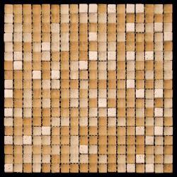 Изображение Mix Glass&Stone Мозаика микс PST001-15 1,5х1,5