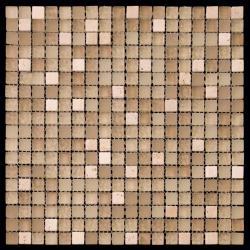 Изображение Mix Glass&Stone Мозаика микс PST008-15 1,5х1,5