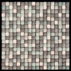 Изображение Mix Glass&Stone Мозаика микс PST009-15 1,5х1,5