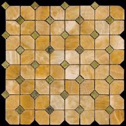 Изображение Octagon1 Мозаика полированная M073+M068-DP9 3,5х3,5