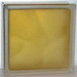 Картинка товара Стеклоблок Волна Коричневый Яркий Матовый 19х19