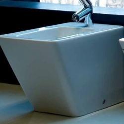 Фото сантехники Alessi dOt Биде напольное, цвет белый