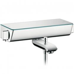 Фото сантехники Ecostat Select с изливом на ванну, цвет хром
