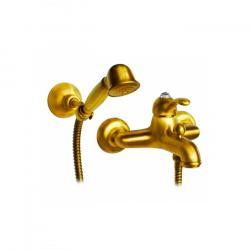 Фото сантехники Lem Swarovski Смеситель для ванны монокомандный, цвет золото