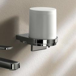 Фото сантехники Дозатор для жидкого мыла, белый/хром