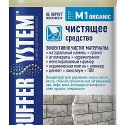 Строительная химия M1 organic, чистящее средство 1 л