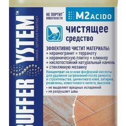 Строительная химия M2 acido, чистящее средство 1 л