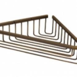 Фото сантехники Complementi Решетка угловая 5x22x22см, цвет бронза
