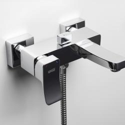 Фото сантехники Aller Смеситель для ванны с коротким изливом, хром