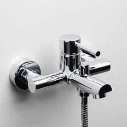 Фото сантехники Смеситель Main 4101 для ванны с коротким изливом, хром