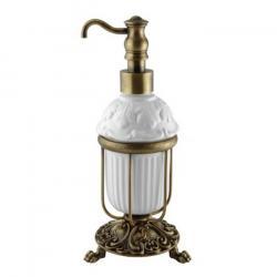 Фото сантехники Elisabetta Дозатор настольный жидкого мыла, бронза/керамика