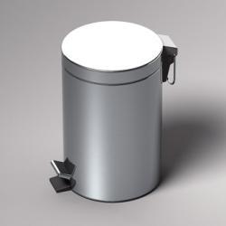 Фото сантехники Hospitality Ведро мусорное, 5 литров, цвет хром