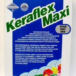 Строительная химия Keraflex Maxi Grey 25 kg клей для керамического гранита большого формата и натурального камня