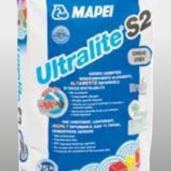 Строительная химия Ultralite S2 15 кг серый однокомпонентный деформативный цементный клей C2E S2