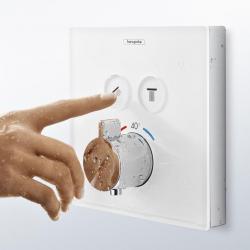 Фото сантехники Shower Select  Наружная часть термостата на 2 потребителя, цвет белый