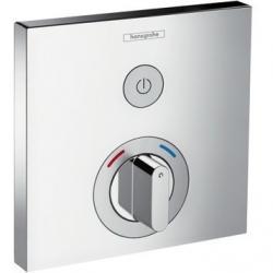 Фото сантехники Shower Select S Термостат с запорным вентилем, цвет хром