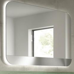 Фото сантехники Tonic II Зеркало 100 х 70 см, с системой антизапотевания, с подсветкой